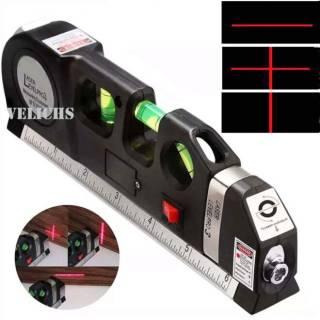 Лазерный уровень FIXIT Laser Level Pro 3 со встроенной рулеткой