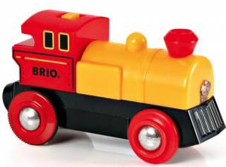 Деревянная железная дорога Brio Брио 33594/33595 Паровоз