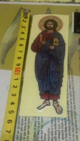 Иисус Христос наклейка ПВХ