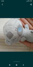 Красивый подарок мишка Тедди голубой нос me to you 3