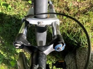 Електровелосипед з двигуном міддрайв 1000Ват, SLX, Rock Shox 2