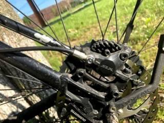 Електровелосипед з двигуном міддрайв 1000Ват, SLX, Rock Shox 3
