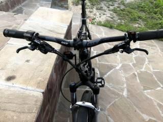 Електровелосипед з двигуном міддрайв 1000Ват, SLX, Rock Shox 7