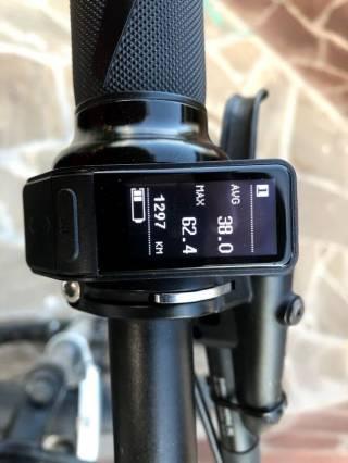 Електровелосипед з двигуном міддрайв 1000Ват, SLX, Rock Shox 6