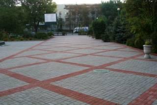 Тротуарная Плитка Вибропрессованная,Старый Город,Кирпич,Поребрик,Отлив 9