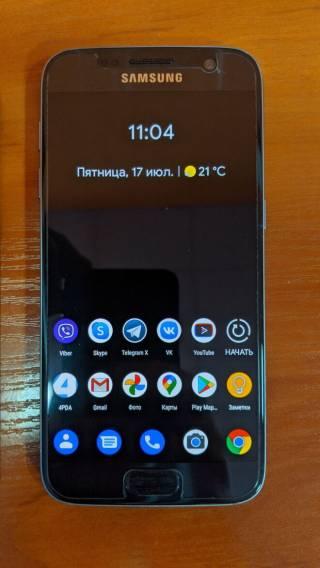 Samsung Galaxy S7 (G930U, 4/32Гб, Snapdragon 820, 2.15 ГГц)