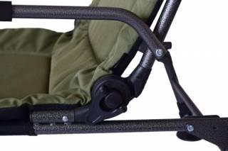 Кресло карповое раскладушка для рыбалки Novator SR-2 + Pod 4