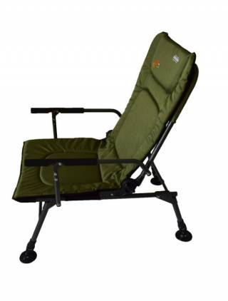 Кресло карповое раскладушка для рыбалки Novator SR-2 + Pod 3