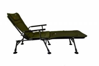 Кресло карповое раскладушка для рыбалки Novator SR-2 + Pod 8