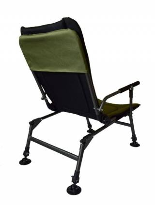 Кресло карповое раскладушка для рыбалки Novator SR-2 + Pod 5
