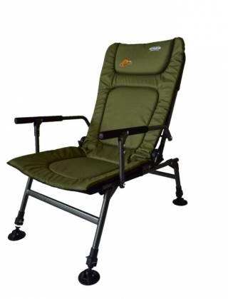 Кресло карповое раскладушка для рыбалки Novator SR-2 + Pod 2
