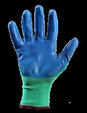 Перчатки с нитриловым покрытием (рабочие)