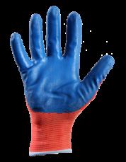 Перчатки с нитриловым покрытием (рабочие) 4