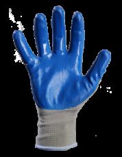 Перчатки с нитриловым покрытием (рабочие) 3