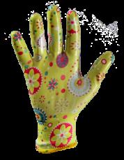 Перчатки с нитриловым покрытием (рабочие) 10
