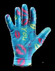 Перчатки с нитриловым покрытием (рабочие) 9