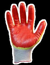 Перчатки с нитриловым покрытием (рабочие) 7