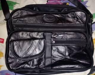 Сумка-портфель со вставками кожи Сotton Traders