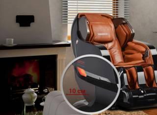 Массажное кресло Yamaguchi Axiom Chrome Limited 5
