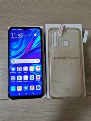 Смартфон Huawei P Smart 2019 (POT-LX1) Midnight Black dual sim