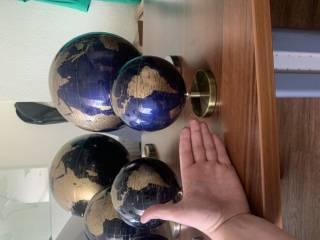 Глобус 14.2, 20 , 25, 32 см качество супер 3