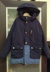 Зимняя куртка -парка zara на 6-7 лет рост до 122 см zara