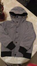Стильная демисезонная куртка Next на 6-7 лет рост до 125 см
