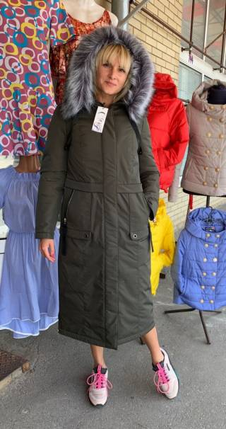 Купить женский пуховик Киев, пуховик батал Киев, пальто зимнее батал
