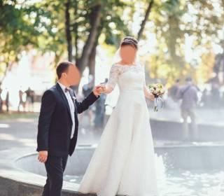 Продам свадебное платье с украшением Swarovski 3