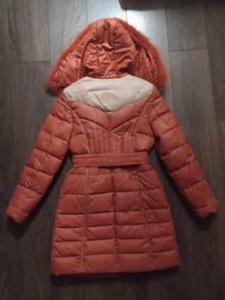 Пальто зимнее на холофайбере как новое р.46