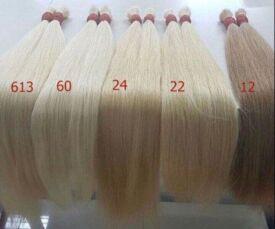 Волосся натуральне, волосся для нарощення 2