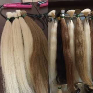 Волосся натуральне, волосся для нарощення 3