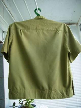 Рубаха офицера Советской Армии летняя с коротким рукавом СССР 2