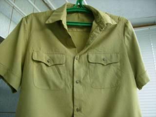 Рубаха офицера Советской Армии летняя с коротким рукавом СССР 3