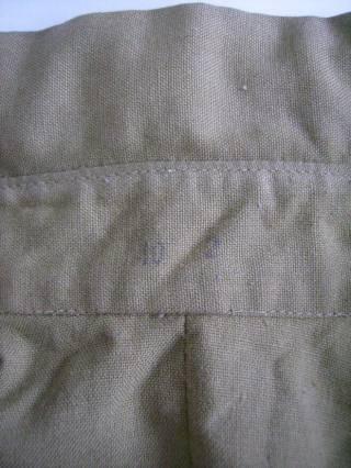Рубаха офицера Советской Армии летняя с коротким рукавом СССР 4