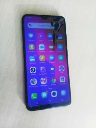 Продам телефон Vivo Y93 lite 3/32GB Starry Black чёрный
