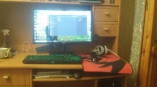 Игровой пк i5-8400 GTX 1060 6gb, 16 ram, ssd 240 монитор 24*
