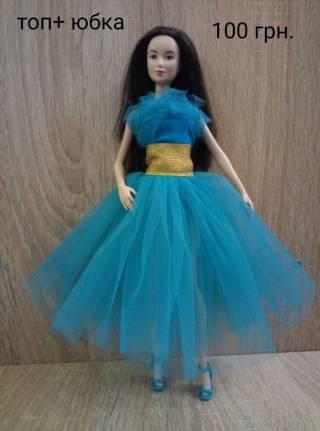 Одежда для кукол Барби, обувь, платье 5
