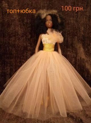 Одежда для кукол Барби, обувь, платье 2