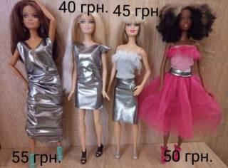 Обувь для кукол Барби, платье,юбки,лосины, обувь 10