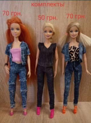 Обувь для кукол Барби, платье,юбки,лосины, обувь 3