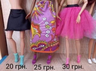Обувь для кукол Барби, платье,юбки,лосины, обувь 6