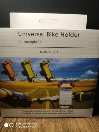 Крепление телефона на руль велосипеда 9