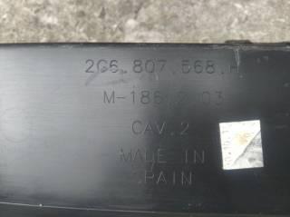 Спойлер заднего бампера VW T-Roc 2G6807568H 3