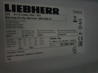 Большая 263 л  морозильная камера бу LIEBHERR GN 4115 4