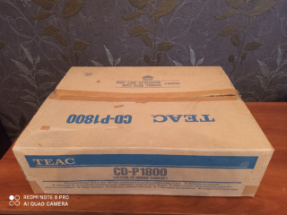 Продам cd проигрыватель TEAC CD-P 1800 10