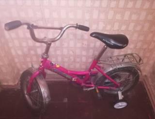 Велосипеды 14 и 16 дюймов в нормальном состоянии
