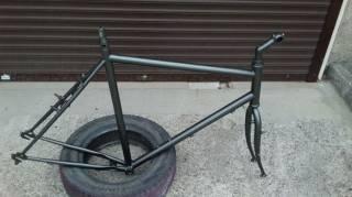 """Велосипедная рама под 28""""колеса с вилкой,рулевой,выносом и подседелом. 2"""