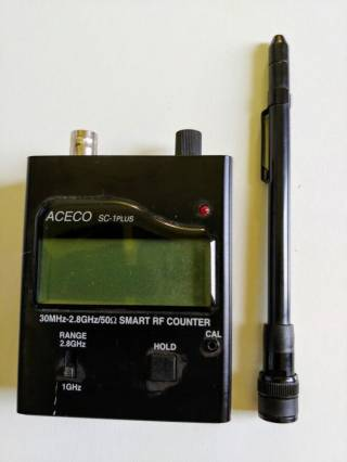 Частотомер SC-1 Plus 2
