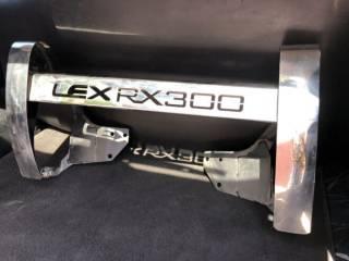 Кенгурятник на Lexus RX300 защита переднего бампера
